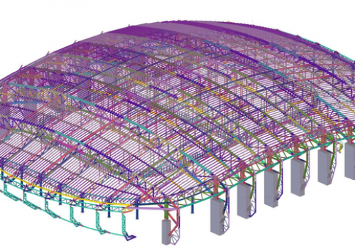 The Olympic Gangneung Ice Arena built with Tekla BIM technology