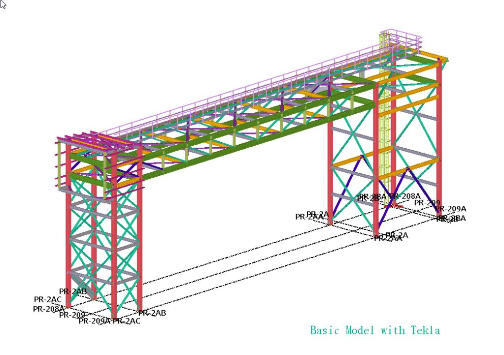 Steel modeling and detailing