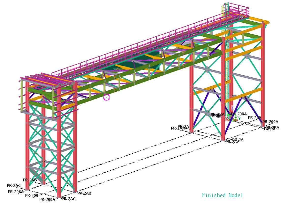 Steel detailing and modeling